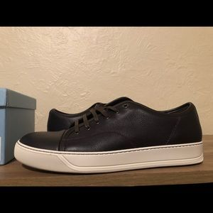 Lanvin cap toe sneakers(comes with box)